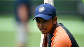 Prithvi Shaw back to net practice ahead of Test squad selection for New Zealand