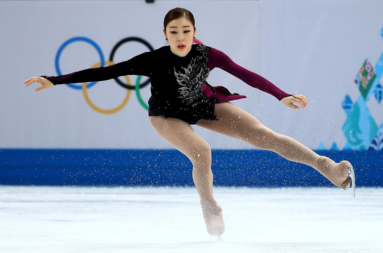 Yuna Kim of South Korea competes in the Women's Figure Skating Free Program on day 13 of the Winter Olympics at Iceberg Skating Palace on Feb. 20, 2014, in Sochi, Russia.
