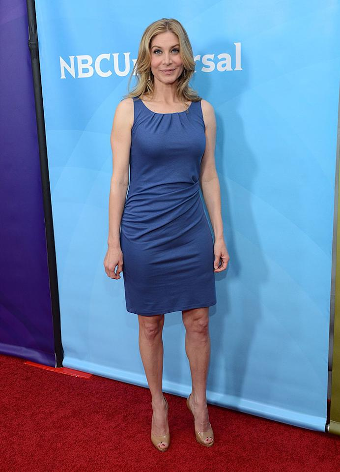 """Elizabeth Mitchell attends NBCUniversal's """"2013 Winter TCA Tour"""" Day 1 at Langham Hotel on January 6, 2013 in Pasadena, California."""