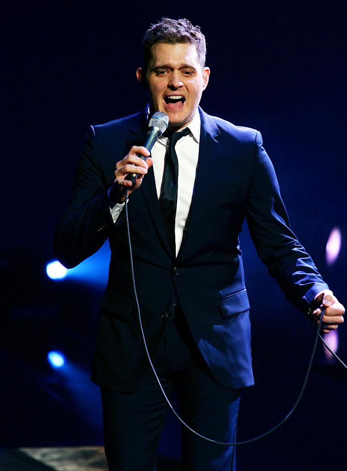 """September 9: Michael Buble turns 35 Jason Squires/<a href=""""http://www.wireimage.com"""" target=""""new"""">WireImage.com</a> - June 26, 2010"""