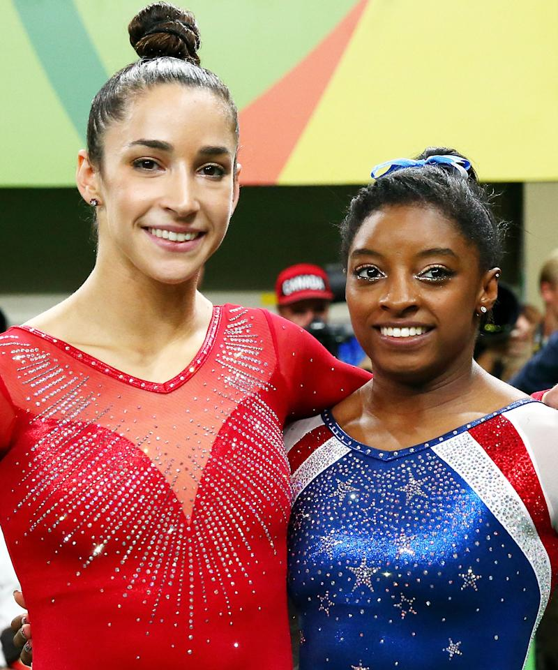 Youll Flip Out Over Aly Raisman Simone Biless Sexy Si Swimsuit