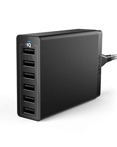 """<p><strong>Anker</strong></p><p>amazon.com</p><p><strong>$25.99</strong></p><p><a href=""""https://www.amazon.com/dp/B00P936188?tag=syn-yahoo-20&ascsubtag=%5Bartid%7C10055.g.399%5Bsrc%7Cyahoo-us"""" rel=""""nofollow noopener"""" target=""""_blank"""" data-ylk=""""slk:Shop Now"""" class=""""link rapid-noclick-resp"""">Shop Now</a></p><p>Now, he has no excuses to not pick up your calls. This compact docking station can charge six of his gadgets at once, so he never runs on empty. </p>"""