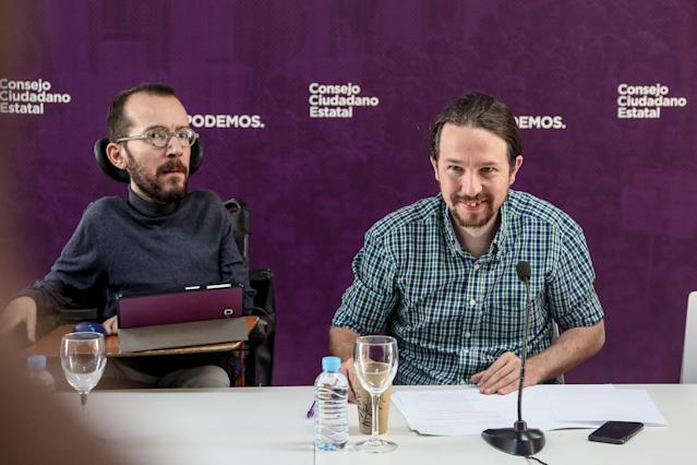 Pablo Iglesias ha cedido a Pablo Echenique la responsabilidad de negociar el grueso del acuerdo con la vicepresidenta Carmen Calvo.(Photo by Europa Press News/Europa Press via Getty Images )