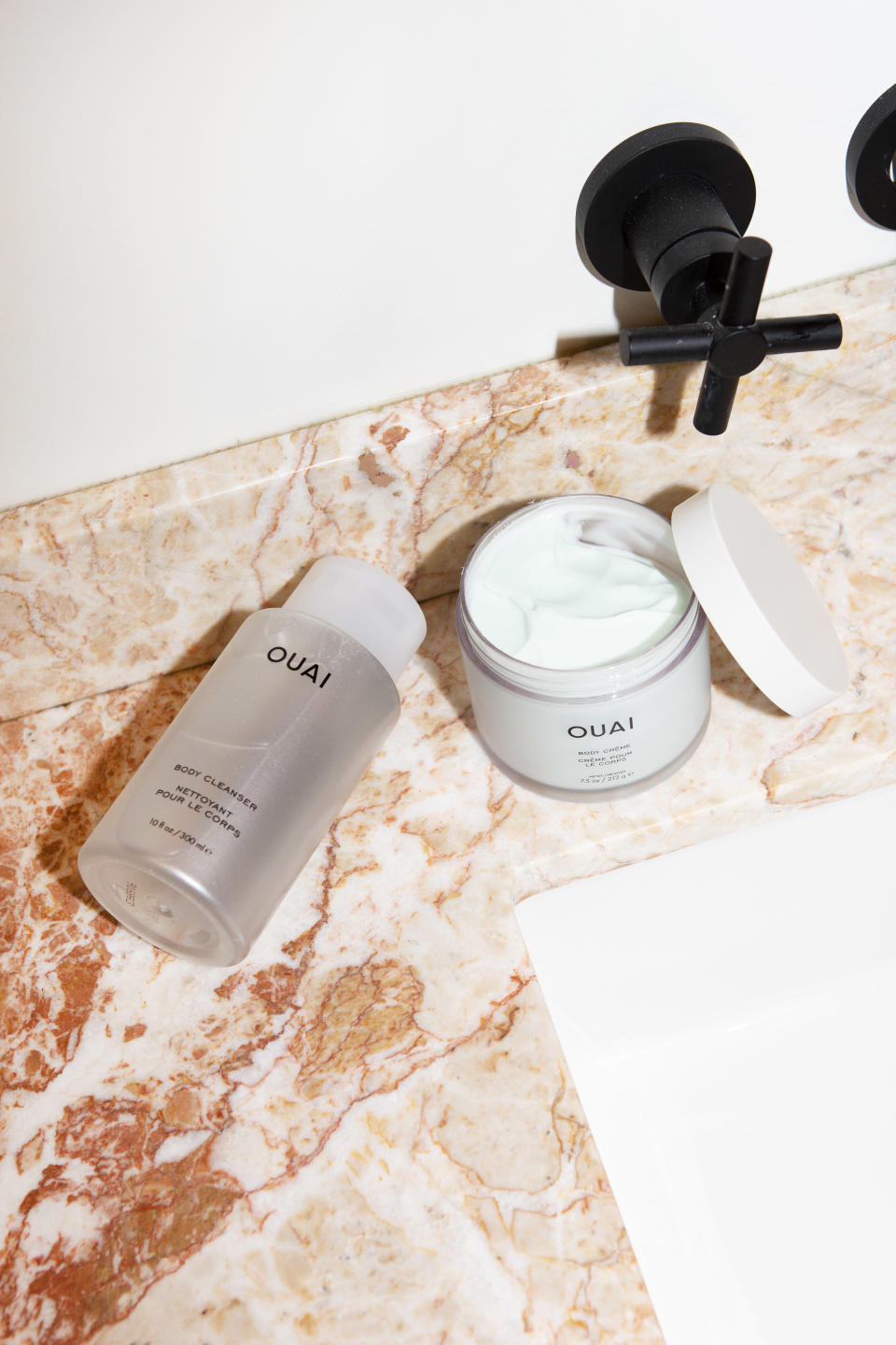 The new body cleanser and body crème from Ouai. - Credit: Courtesy Image
