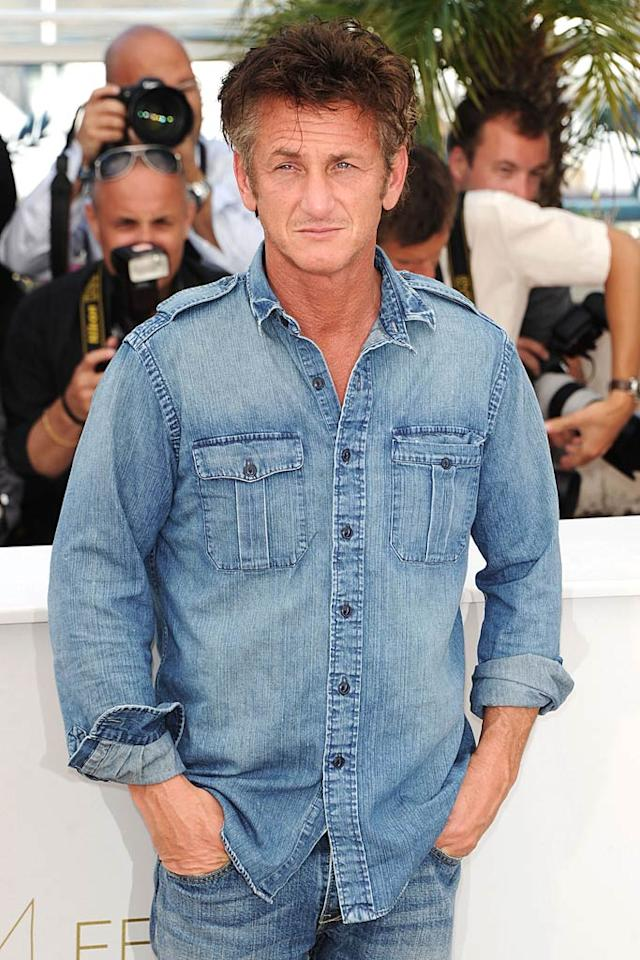 "Sean Penn turns 51. Venturelli/<a href=""http://www.wireimage.com"" target=""new"">WireImage.com</a> - May 20, 2011"