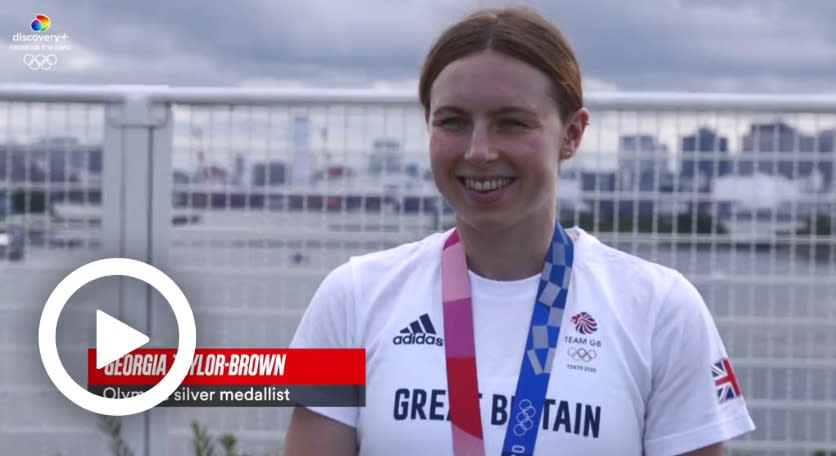 TOKYO 2020 - 'IT'S QUITE SPECIAL' - GEORGIA TAYLOR-BROWN ON HER INJURY COMEBACK AND HER SILVER MEDAL