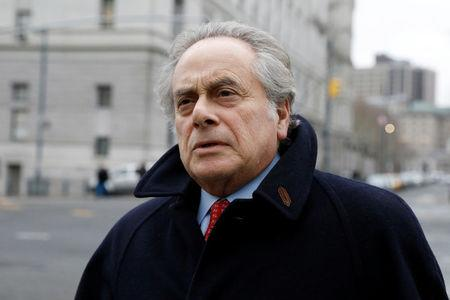Attorney Benjamin Brafman arrives for a hearing for his client, former drug company executive Martin Shkreli, at the U.S. District Court for the Eastern District of New York in Brooklyn, New York City, U.S., February 23, 2018. REUTERS/Brendan McDermid