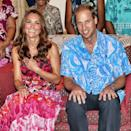 <p>In the first royal visit to the commonwealth since 1982, Kate and William were welcomed by the people in the Polynesian country with aplomb. They had a ton of fun, even dancing with the ladies at a traditional Vaiku Falekaupule ceremony. </p>
