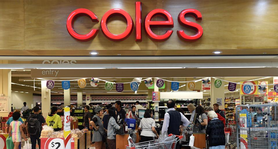 Coles changed the advice featured in its January magazine. Source: AAP