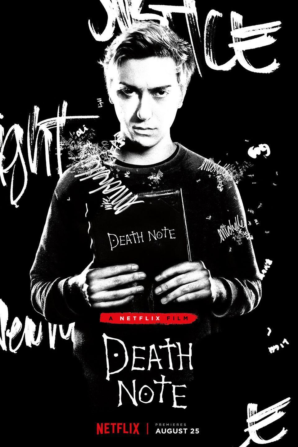 """<p>A boy finds himself with the """"Death Note,"""" a notebook that allows him to team up with death. He starts to use it for good, but finds it has many unfortunate repercussions.</p><p><a class=""""link rapid-noclick-resp"""" href=""""https://www.netflix.com/title/80122759"""" rel=""""nofollow noopener"""" target=""""_blank"""" data-ylk=""""slk:STREAM NOW"""">STREAM NOW</a></p>"""