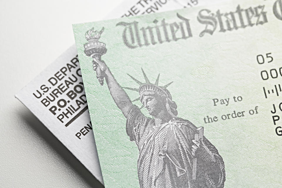 Stimulus Check: USA government check, payment