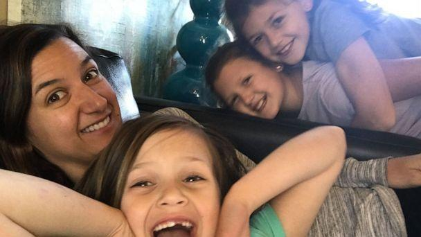 PHOTO: Rosie Lamphere, a mom of three and co-founder of the blog, Play At Home Mom, gained viral attention after her Facebook post sparked debate on punishments in kids. (Rosie Lamphere)