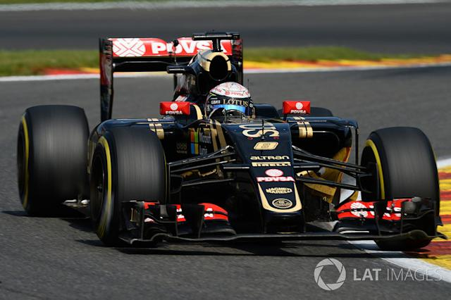 "Lotus F1 E23 (2015) <span class=""copyright"">Sutton Motorsport Images</span>"