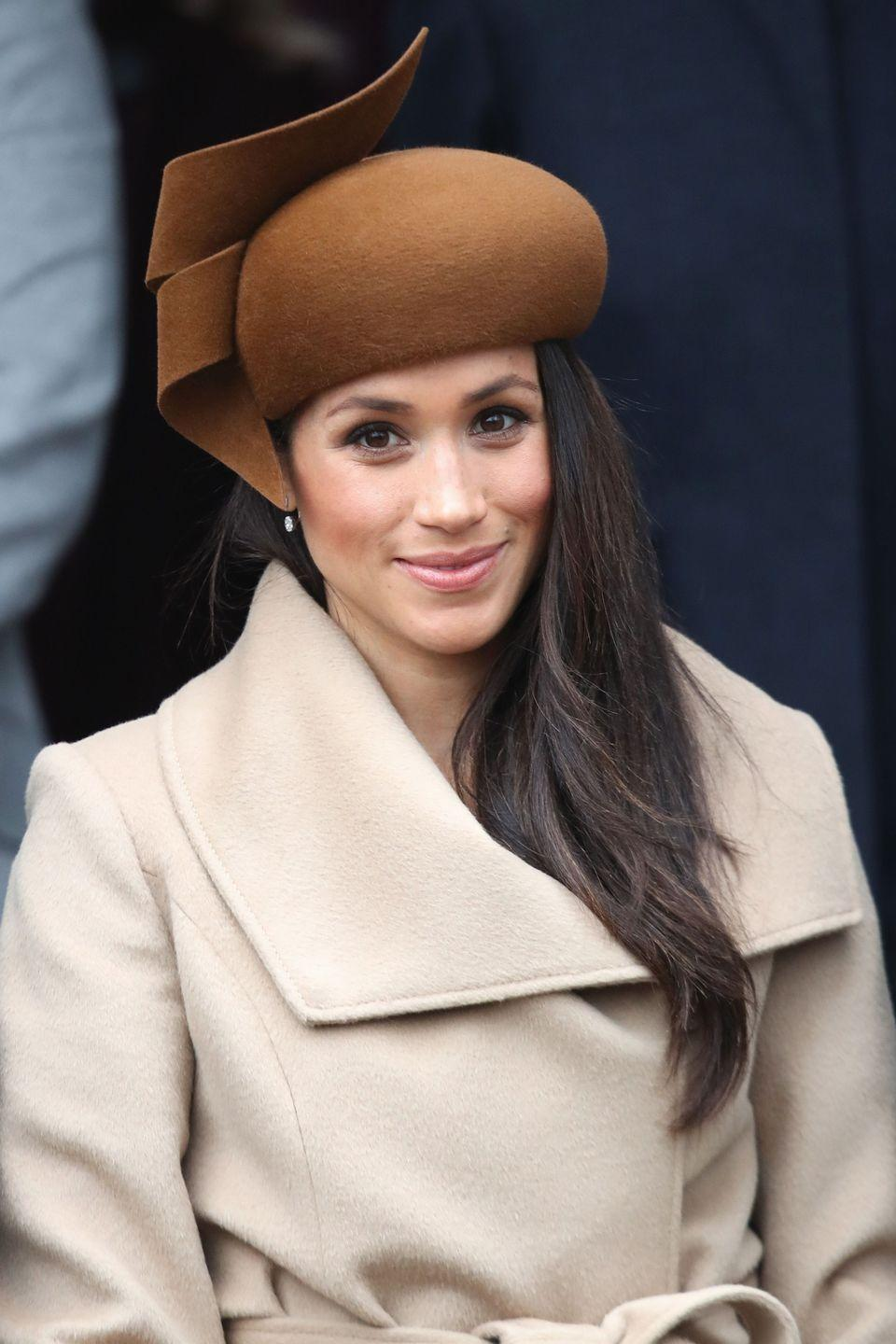 <p>Instead of soft waves, Markle is now favoring a straighter hairstyle that still has plenty of body and movement. The face-framing pieces are slightly curled away from the face, but only at the very ends.</p>