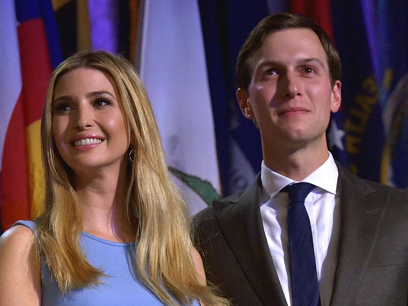 Oliver says Ms Trump's political promises lack substance and she consistently fails to hold her father to account: Getty