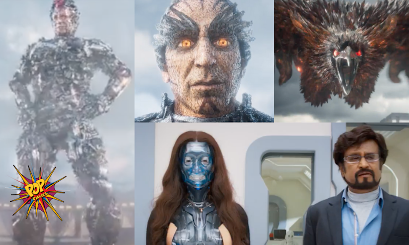 2.0 Trailer: A Visual Treat With An Outstanding Work Of VFX, Akshay Kumar And Rajinikanth Are A Treat To Watch