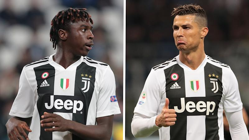 'Ronaldo is a good person' - Everton's Kean reveals Juventus star's help