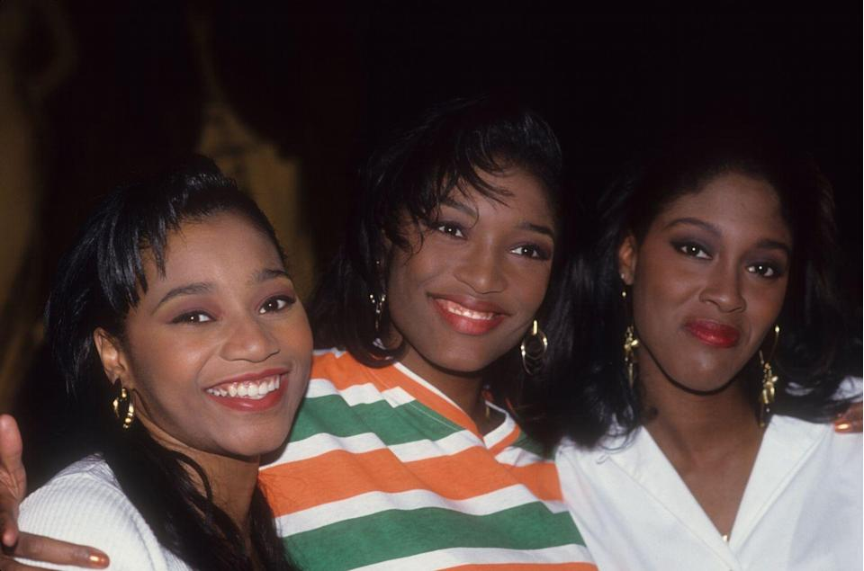 """<p>Short for Sisters With Voices, the trio of Coko, Taj, and Lelee are a hugely influential group that were biggest in the early- and mid-90s, but inspired plenty of other artists despite disbanding in 1998. They got back together in 2005 and have been recording since, but have never managed to match the hit-making status of 1992's """"Weak"""" or """"I'm So Into You."""" </p>"""