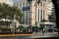 Zhang Zhan was sentenced in a brief hearing in Shanghai's Pudong New District People's Court