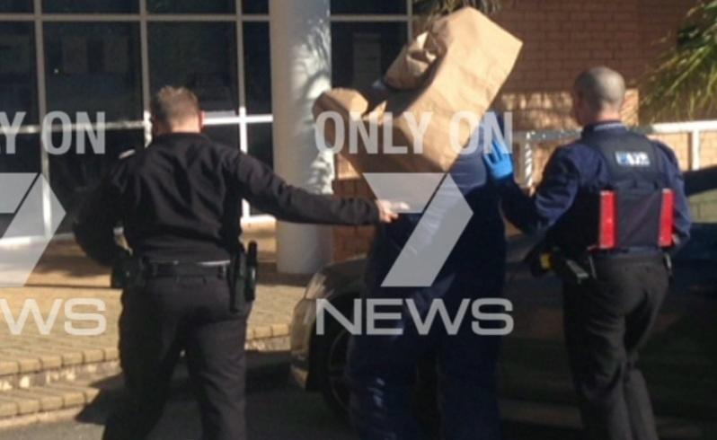 A man is being questioned over death of woman in Armadale. Picture: Seven News