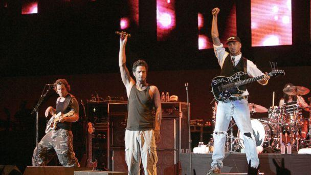 PHOTO: Chris Cornell and Audioslave in 2005. (J. Merritt/FilmMagic/Getty Images)