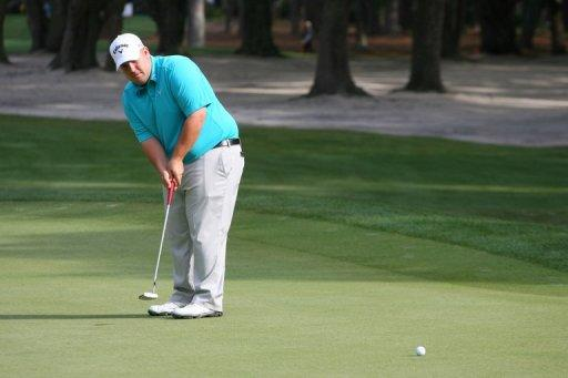 Colt Knost is leading the Heritage Classic in Hilton Head Island, South Carolina