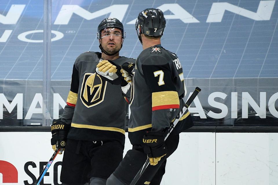 The streaking Vegas Golden Knights lead the West Division.