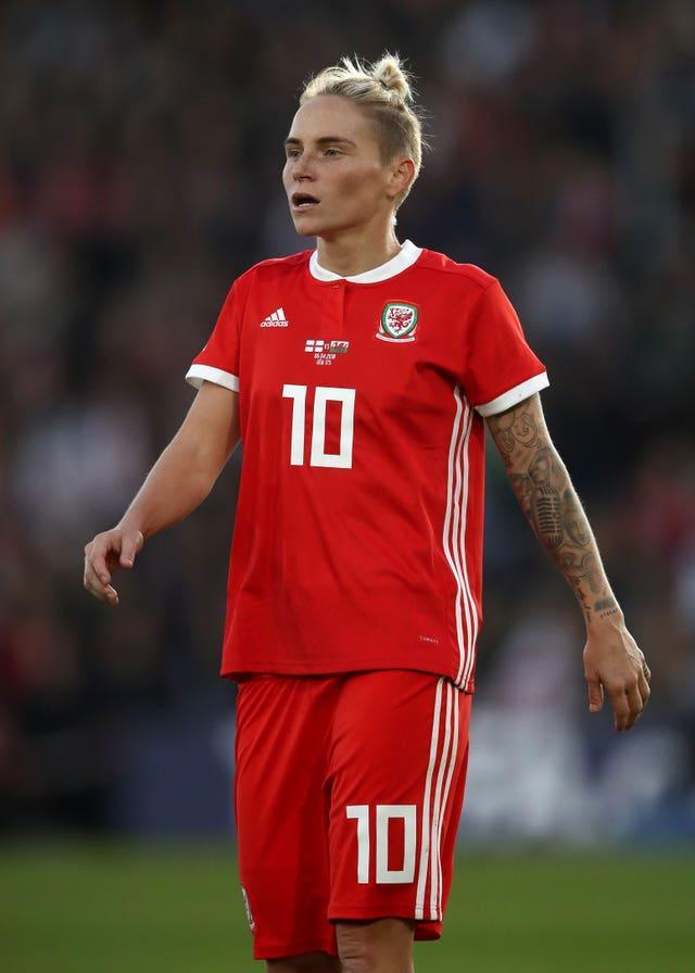 Fishlock in 2018 was awarded an MBE for her services to the game and the LGBT community (John Walton/PA).