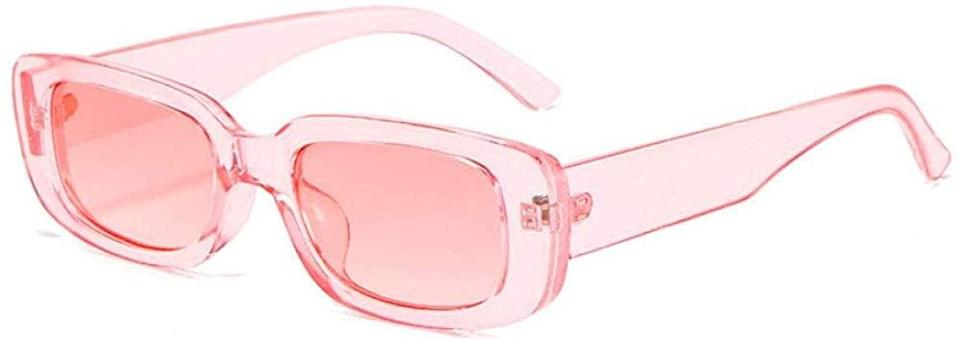 <p>If they're all about that 90's aesthetic, these <span> Dollger Retro Y2K Pink Rectangle Sunglasses </span> ($13) are such a stylish find. Trust us, these will be their new go-to. </p>
