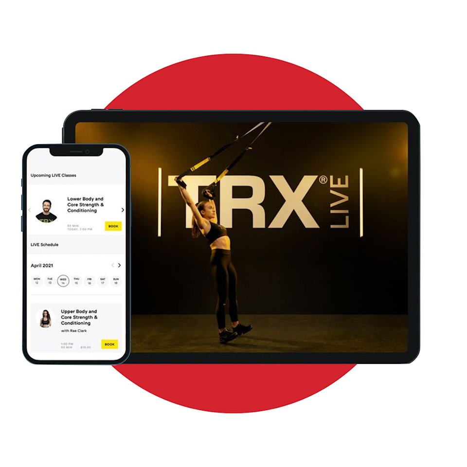 """<p>trxtraining.com</p><p><strong>$19.99</strong></p><p><a href=""""https://club.trxtraining.com/"""" rel=""""nofollow noopener"""" target=""""_blank"""" data-ylk=""""slk:BUY IT HERE"""" class=""""link rapid-noclick-resp"""">BUY IT HERE</a></p><p>If you're the type of guy who can't pass on a hardcore workout (even when you're away from your normal life), why not take your sessions with you? A monthly membership to the TRX Training Club gives you a robust fitness experience with unlimited access to on-demand workouts along with live classes, access to the platform's personal trainers, and so much more. Now, you have no reason to skip your workout regime.</p>"""