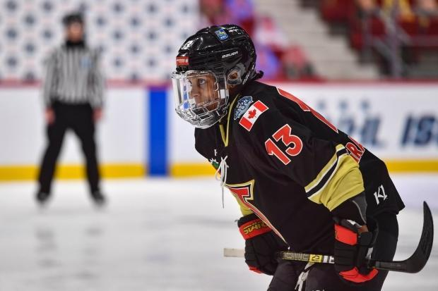 Toronto Six forward Mikyla Grant-Mentis says her and her teammates would have finished out the season if asked to, but knows the league's decision was the safest. (@TheTorontoSix/Twitter - image credit)