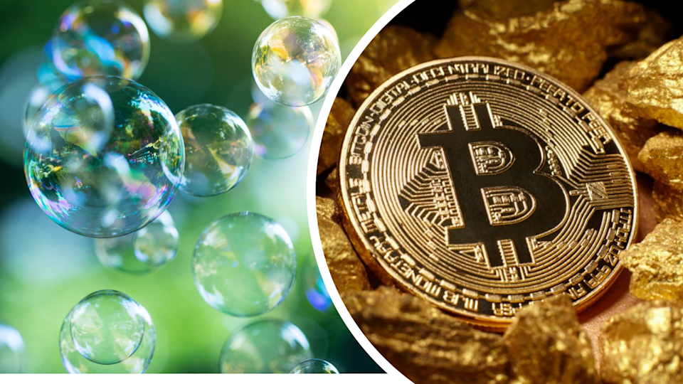 Will the Bitcoin rally turn out to be another bubble? (Source: Getty)