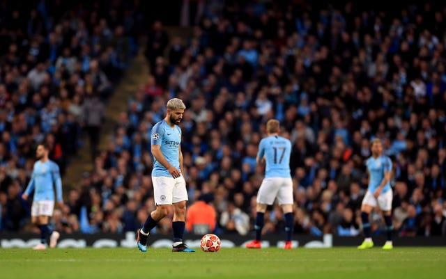 City went out of the Champions League in dramatic circumstances against Tottenham in 2019