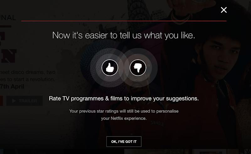 Image result for netflix thumbs up