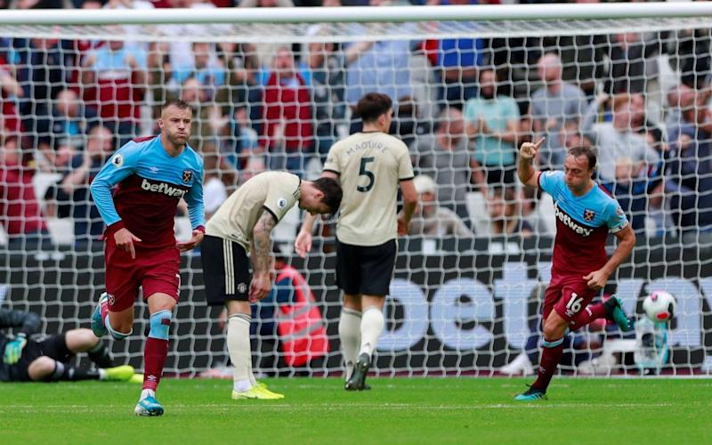West Ham were superior all over the park on Sunday afternoon - Action Images via Reuters