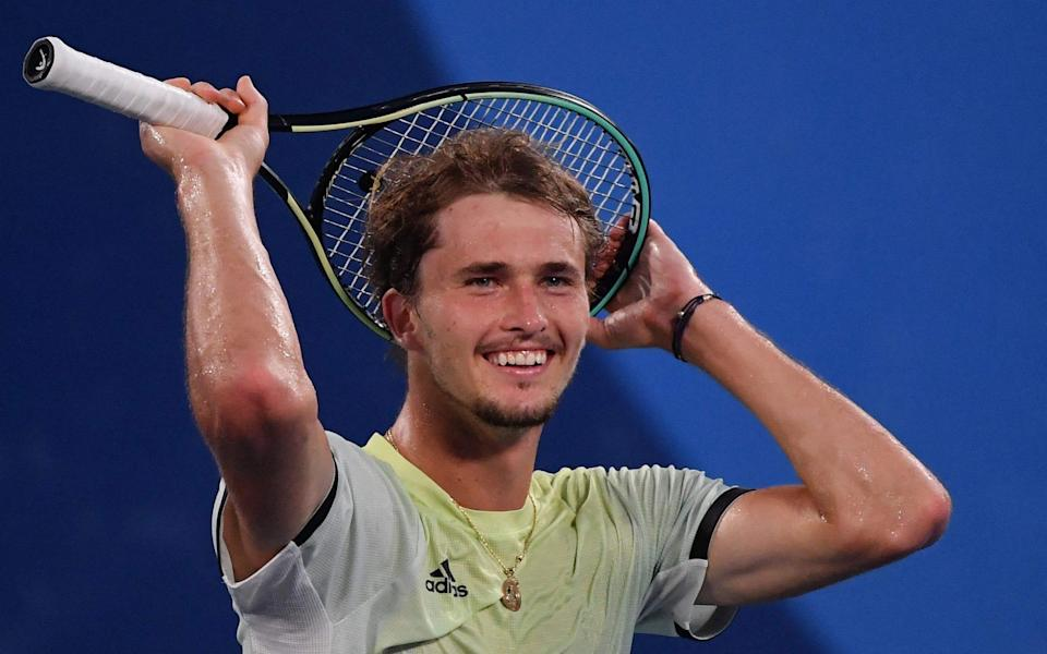 Alexander Zverev wins Olympic gold for Germany as he cruises to victory over Russian Karen Khachanov - AFP
