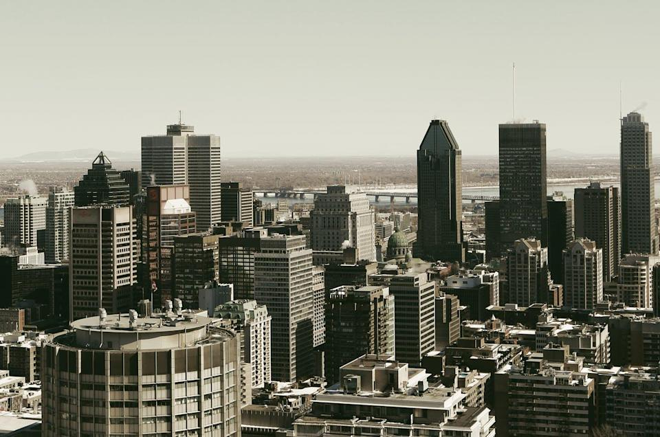 """<span class=""""caption"""">Cities in Eastern Canada, like Montréal, are at risk of damage from earthquakes.</span> <span class=""""attribution""""><a class=""""link rapid-noclick-resp"""" href=""""https://pixabay.com/photos/montreal-skyline-city-town-406895/?download"""" rel=""""nofollow noopener"""" target=""""_blank"""" data-ylk=""""slk:(Life-of-Pix/Pixabay)"""">(Life-of-Pix/Pixabay)</a>, <a class=""""link rapid-noclick-resp"""" href=""""http://artlibre.org/licence/lal/en"""" rel=""""nofollow noopener"""" target=""""_blank"""" data-ylk=""""slk:FAL"""">FAL</a></span>"""