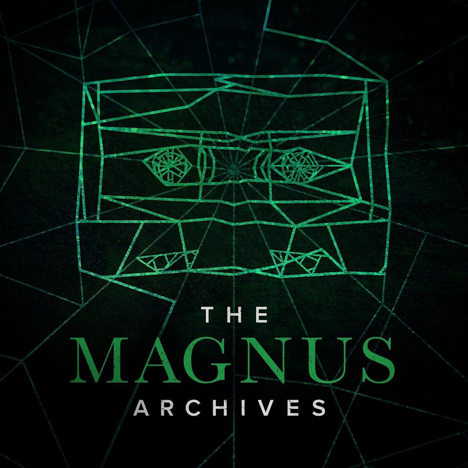 """<p>Follow the fictional Magnus Institute's new head archivist, Jonathan Sims, as he goes through the organization's old documents to convert a collection of supernatural statements into audio files. But as he digs deeper into the past, there seems to be an unsettling presence lurking about.</p><p><a class=""""link rapid-noclick-resp"""" href=""""https://podcasts.apple.com/us/podcast/the-magnus-archives/id1095138637"""" rel=""""nofollow noopener"""" target=""""_blank"""" data-ylk=""""slk:Stream Now""""> Stream Now</a></p>"""