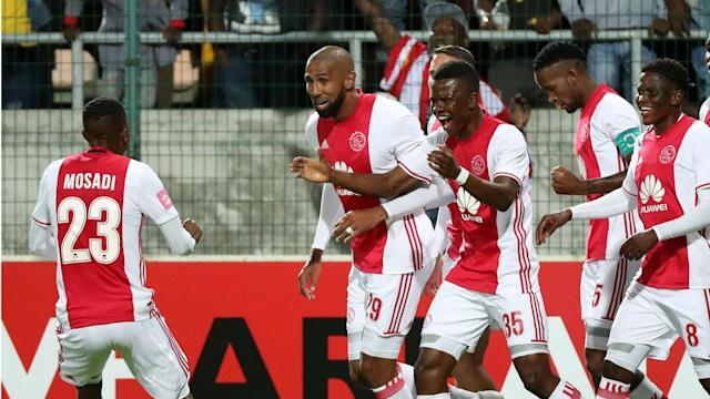 According to Sky Sports News, Ajax Cape Town faced Manchester United in the Europa League final