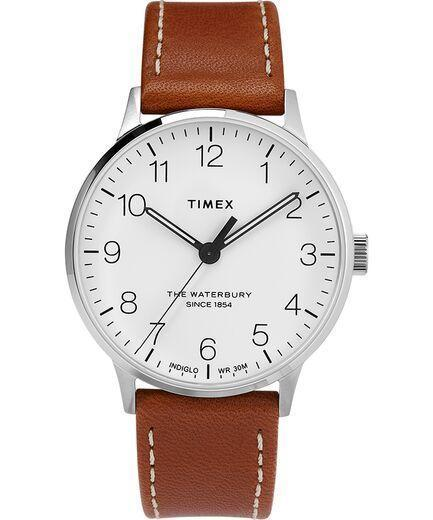 """<p><strong>Timex Waterbury Classic Watch</strong></p><p>timex.com</p><p><strong>$109.00</strong></p><p><a href=""""https://go.redirectingat.com?id=74968X1596630&url=https%3A%2F%2Fwww.timex.com%2Fwaterbury-40mm-classic-leather-strap-watch%2FWaterbury-40mm-Classic-Leather-Strap-Watch.html%3Fdwvar_Waterbury-40mm-Classic-Leather-Strap-Watch_color%3DStainless-Steel-Tan-White%26rrec%3Dtrue%23q%3Dmickey%26lang%3Den_US%26start%3D1&sref=https%3A%2F%2Fwww.harpersbazaar.com%2Ffashion%2Ftrends%2Fg30515430%2Fbest-watch-brands-for-women%2F"""" rel=""""nofollow noopener"""" target=""""_blank"""" data-ylk=""""slk:Shop Now"""" class=""""link rapid-noclick-resp"""">Shop Now</a></p><p>Popularity has always ranked high for Timex. Since 1854, when the firm began as a clock manufacturer in Waterbury, Connecticut, it mass-produced items everyone could afford. It stuck to this ethos throughout the years, selling pocket watches for 35 cents when they became de rigueur, and then partnering with the Walt Disney Company in the '30s to create wristwatches that featured Mickey Mouse, a familiar face to most—if not all—households. </p><p>In 1950, Timex debuted the V-conic, the first high-quality movement that was offered in the United States. More than three decades later, it produced the first sports watch that was completely digitized, and later pieces that glowed in the dark. The company today features a wide range of styles, becoming a subsidiary of the Netherlands-based Timex Group B.V., which also licenses the names of fashion brands including Versace and Salvatore Ferragamo. </p>"""