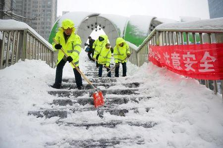 Image result for china hit by second wave of snow