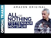 "<p>Voiced by Tom Hardy All or Nothing follows Tottenham Hotspur during the 2019/2020 premier league season, giving viewers an inside look at the intricate politics and behind the scenes drama of a top football team.</p><p><a href=""https://www.youtube.com/watch?v=QBbXGUKkJu8"" rel=""nofollow noopener"" target=""_blank"" data-ylk=""slk:See the original post on Youtube"" class=""link rapid-noclick-resp"">See the original post on Youtube</a></p>"