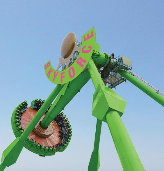 Sky-Force is the new ride on the block at Flambards (Flambards)
