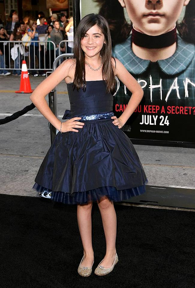 """<a href=""""http://movies.yahoo.com/movie/contributor/1809772465"""">Isabelle Fuhrman</a> at the Los Angeles premiere of <a href=""""http://movies.yahoo.com/movie/1810046253/info"""">Orphan</a> - 07/21/2009"""