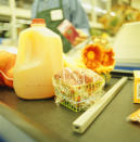 <p><b>6. The Conveyor Belt</b></p><p>Next time you're placing your purchases on that conveyor belt, take a minute to think about what you're not seeing. A 2009 study analyzed 100 conveyor belts in 42 stores and discovered high microbial populations on all the samples. Yes, all of them. The good news is researchers didn't find any food-borne pathogens or MRSA. The bad news is those belts are just plain filthy. The bottom line? Avoid touching and putting any unwrapped food directly on them. If you're checking out something that doesn't have a disposable wrapper, give it a once-over with an antibacterial wipe before putting it away or using it.</p><p><i>(Photo: Getty)</i><b><br></b></p>
