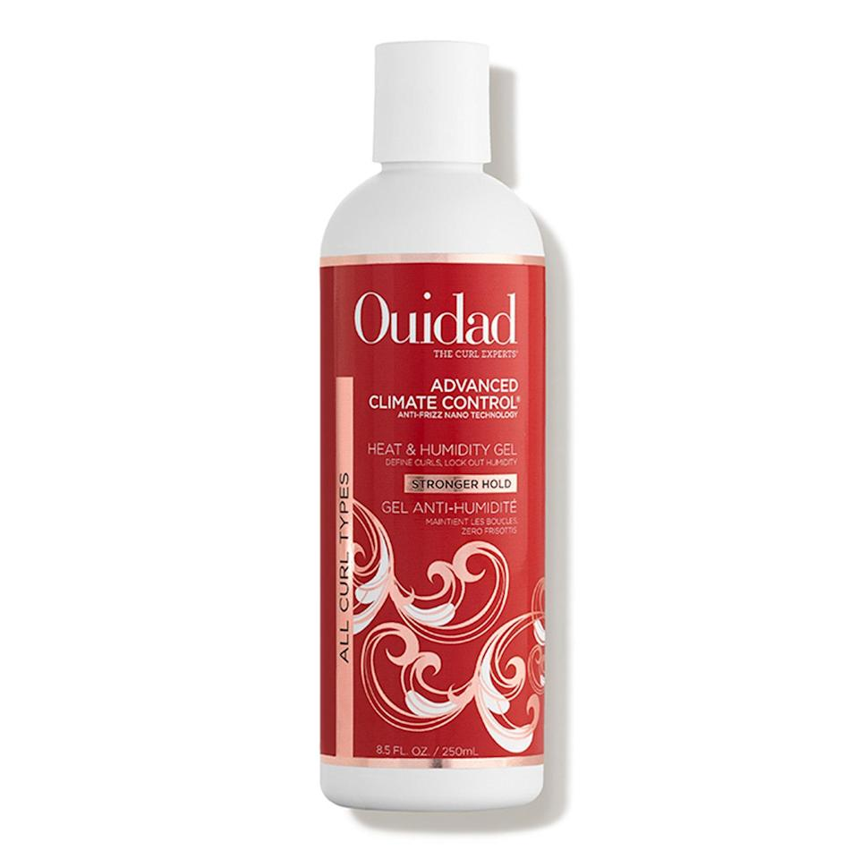 """<p>The fan-favorite Advanced Climate Control Heat & Humidity Gel from Ouidad is even stronger than before. Especially effective on tight, kinky curls, this stuff brings the definition and hold, leaving you with enviable curls that last for days on end. As an added bonus, it helps protect hair from heat and UV damage, too.</p> <p><strong>$26</strong> (<a href=""""https://www.amazon.com/Ouidad-Advanced-Climate-Control-Humidity/dp/B077GMVCVG"""" rel=""""nofollow noopener"""" target=""""_blank"""" data-ylk=""""slk:Shop Now"""" class=""""link rapid-noclick-resp"""">Shop Now</a>)</p>"""