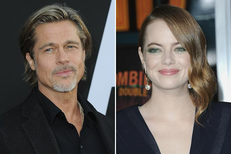 Emma Stone and Brad Pitt Might Be Making an Old Hollywood Epic