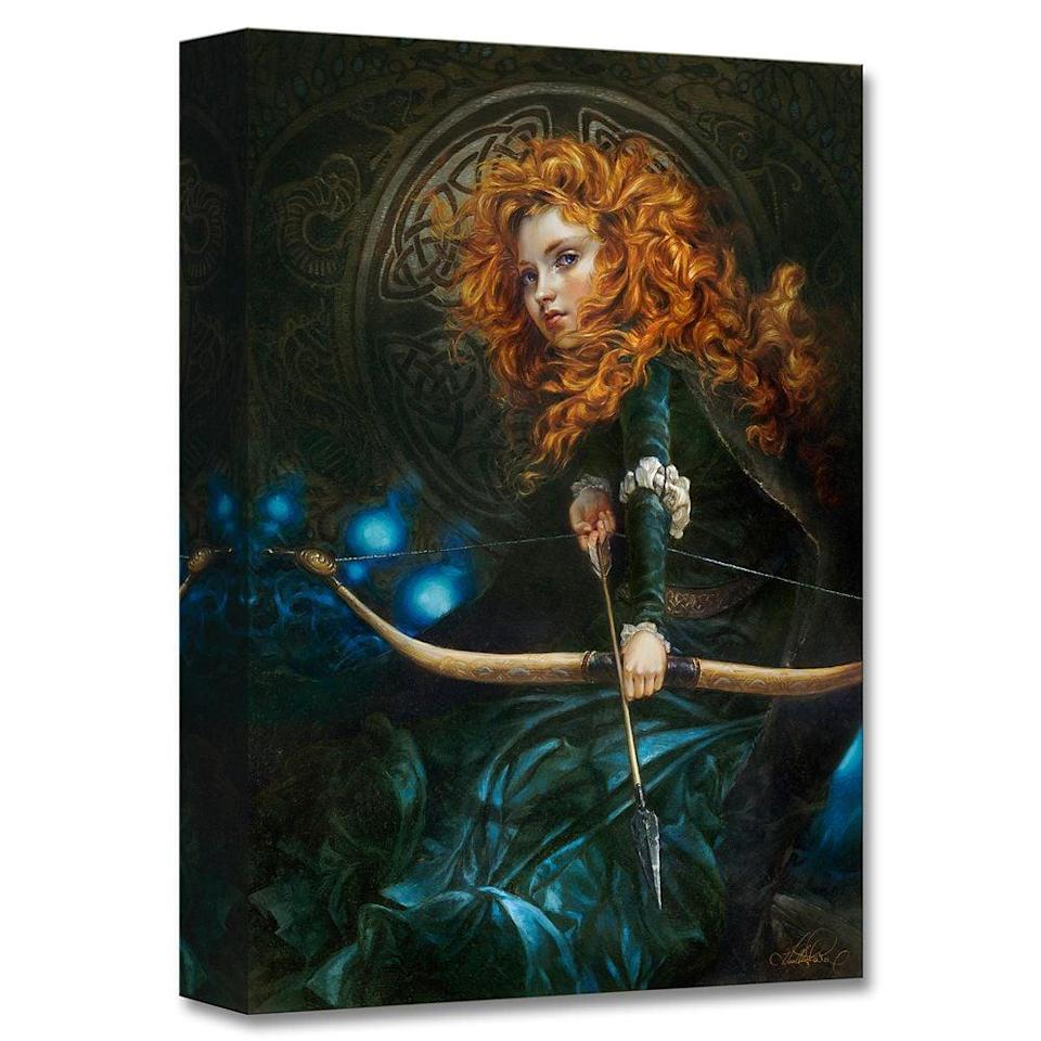 <p>The <span>Merida ''Her Father's Daughter'' Giclée by Heather Edwards</span> ($150) is so powerful. </p>