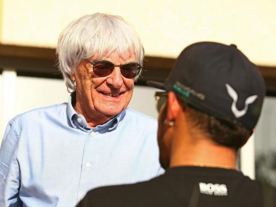 Ecclestone claimed that he pulled F1 out of South Africa after a black journalist was killed (Getty)