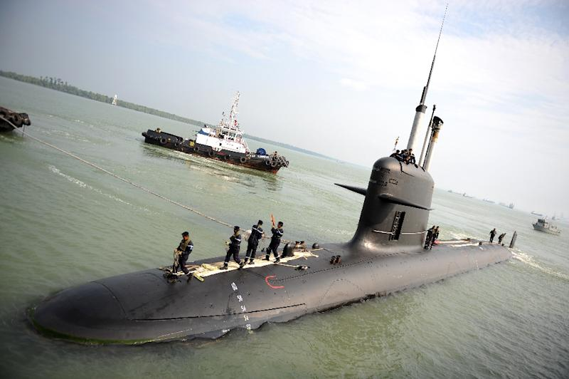 A French submarine maker is alleged to have paid massive kickbacks to a shell company linked to an associate of former Malaysian leader Najib Razak